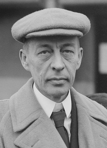 Rachmaninoff, in his later years, toured the U...