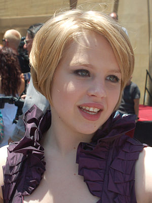 Sofia Vassilieva in June 2009.
