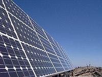 Los paneles fotovoltaicos convierten directamente la energ�a luminosa en energ�a eléctrica.