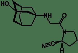 Vildagliptin_Structural_Formulae