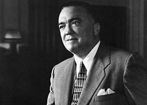 English: J. Edgar Hoover