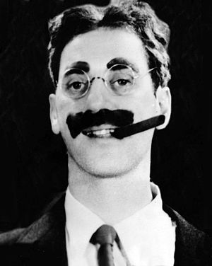 "Julius Henry ""Groucho"" Marx, cropped..."