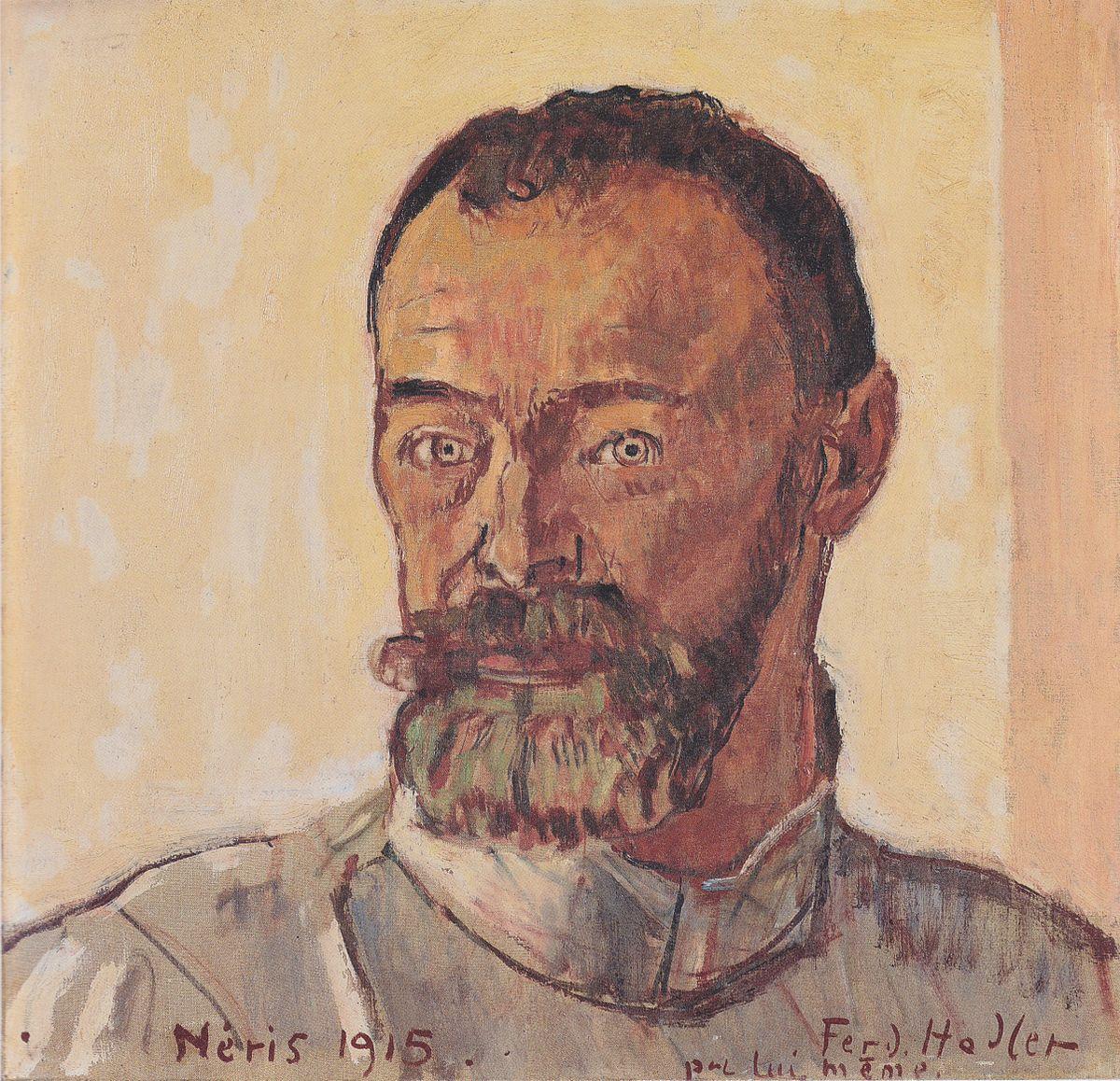 Ferdinand Hodler  Wikipedia la enciclopedia libre