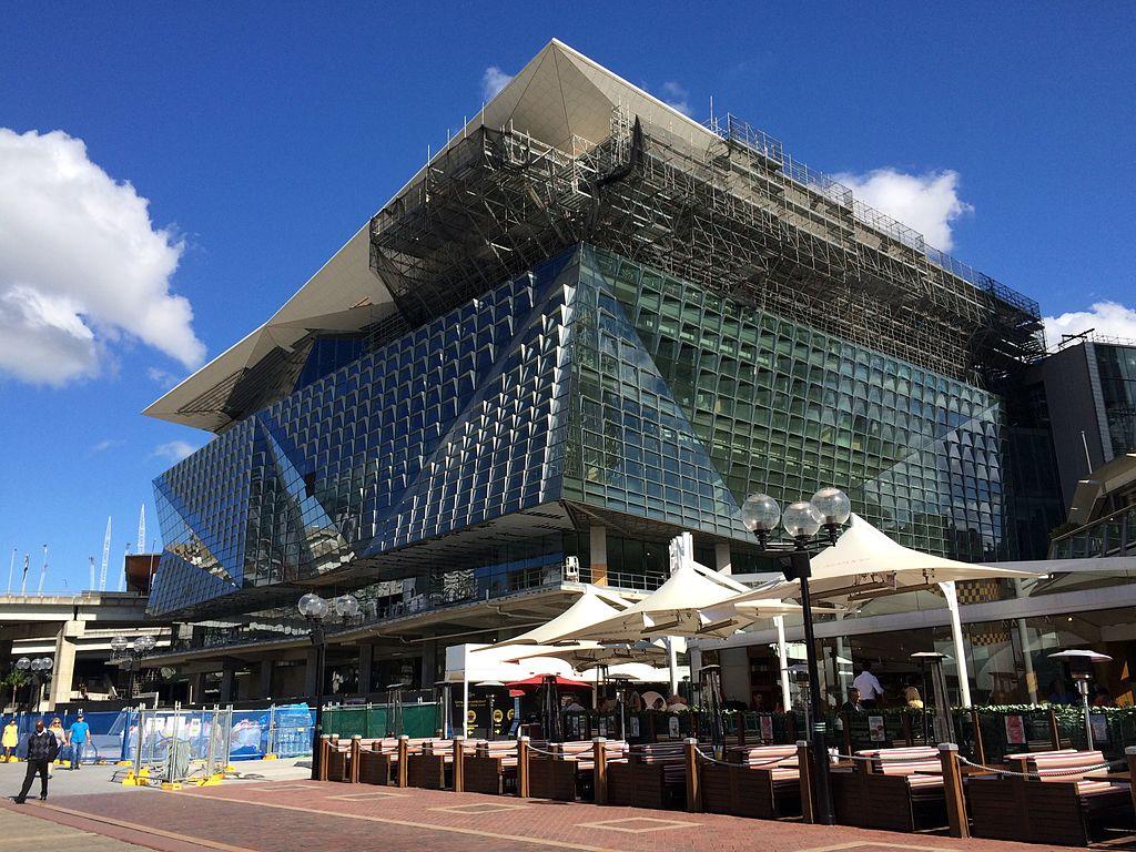 FileICC Sydney Convention Center  Under Construction