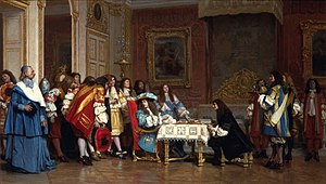 Louis XIV and Moliere