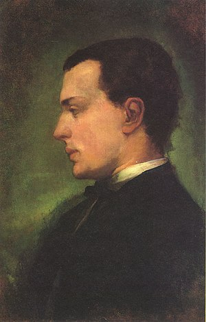 Portrait of Henry James, the novelist