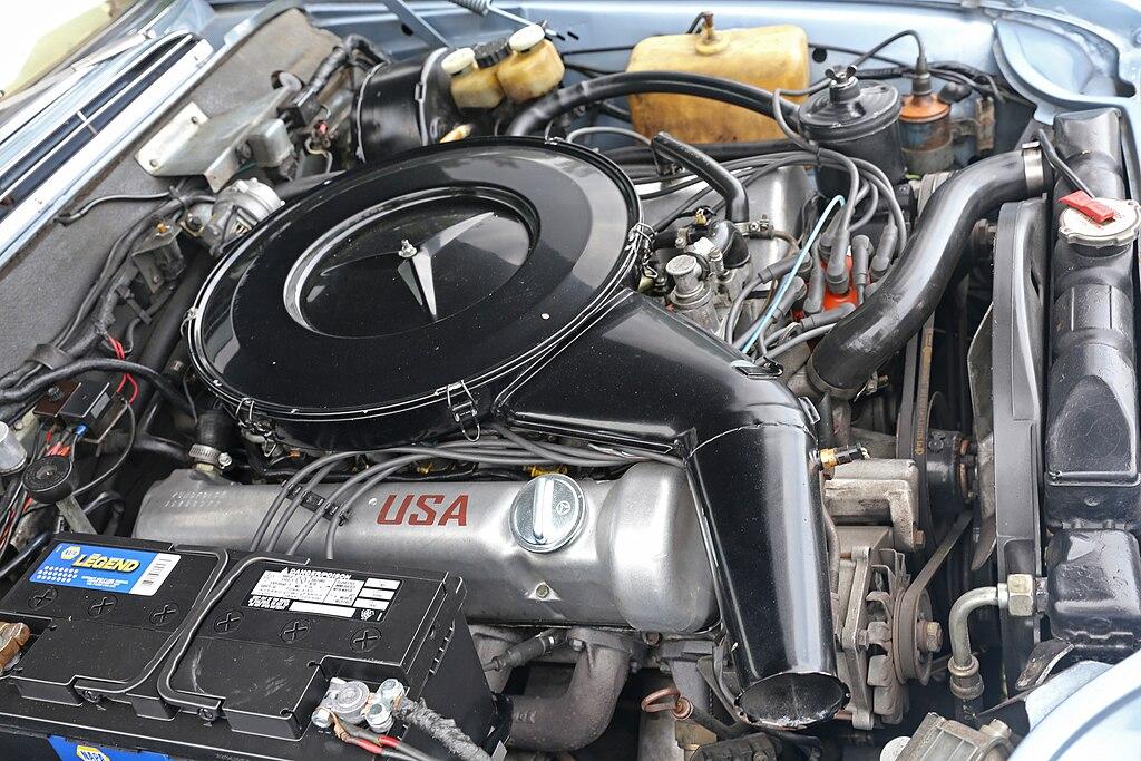 Amc 401 Wiring Diagram File M116 980 Engine In 1970 Mercedes Benz 280 Se 3 5 Us