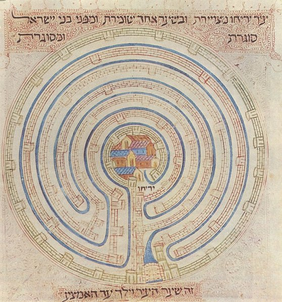 File:Map of Jericho in 14c Farhi Bible by Elisha ben Avraham Crescas.jpg