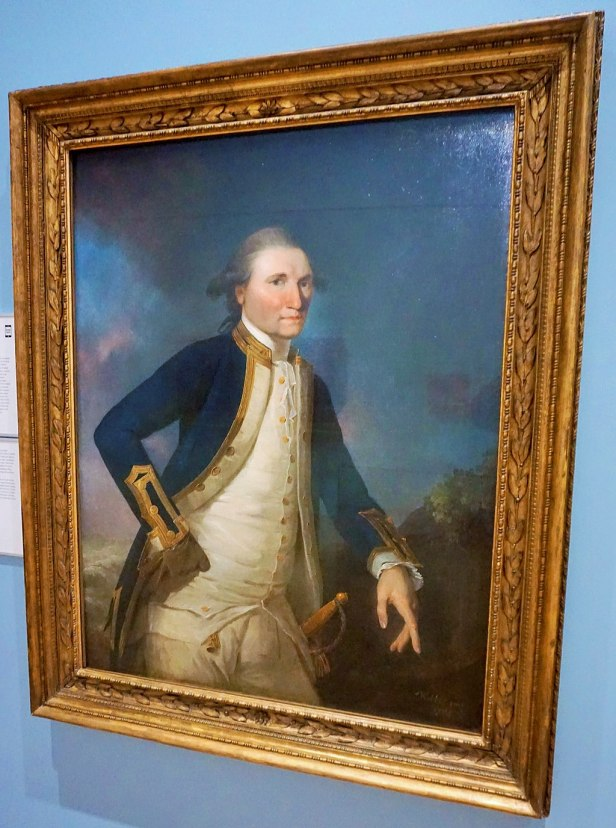 National Portrait Gallery, Canberra, Australia - Joy of Museums - Portrait of Captain James Cook RN