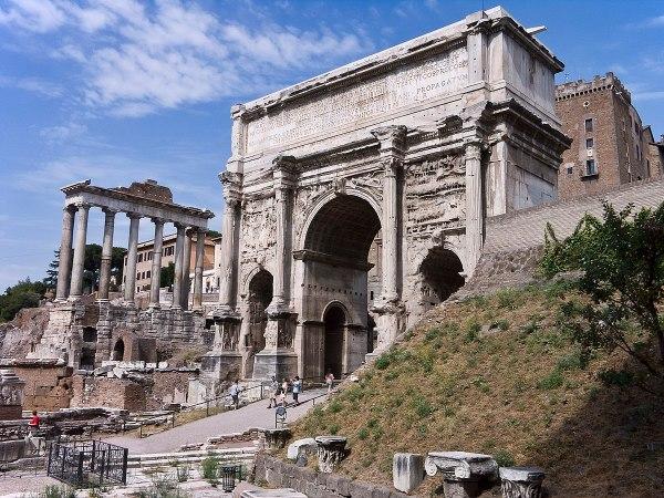 Arch Of Septimius Severus - Wikipedia