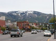 Downtown Steamboat Springs Colorado