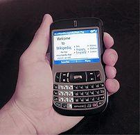 T-Mobile Dash smartphone disp...