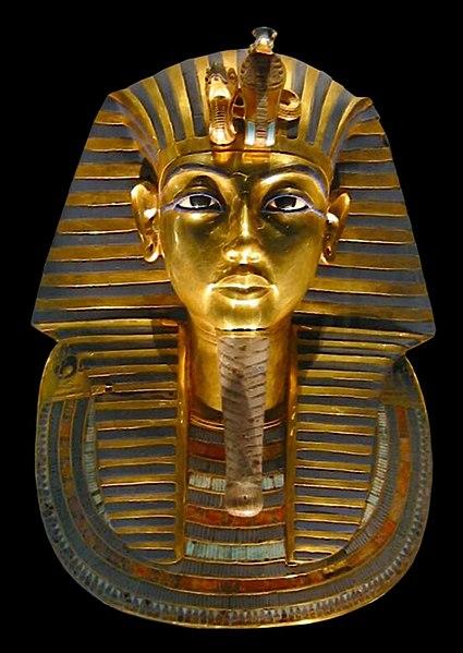 Mascera funeraria di Tutankhamon