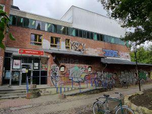 Kulturzentrum Faust, Eingang Mephisto