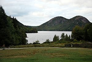 Acadia National Park Jordan Pond Maine 2009