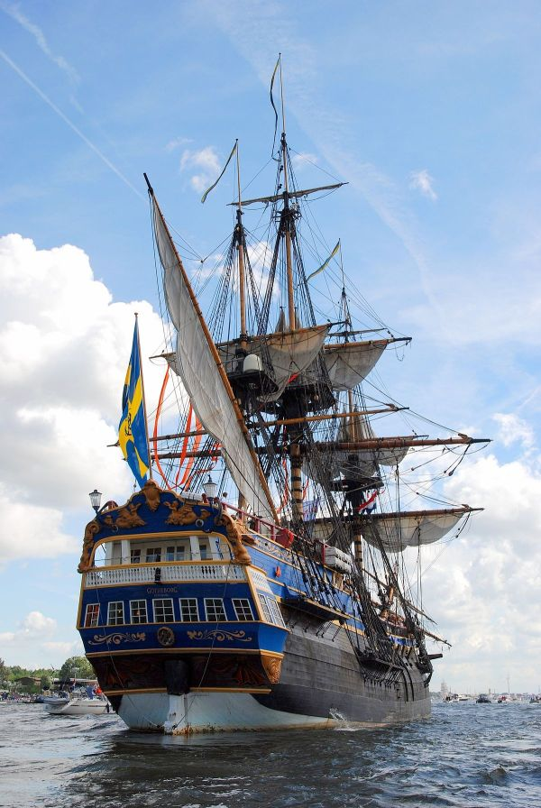 Old Sailing Ship Stern's