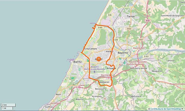 Anglet  Wikipdia