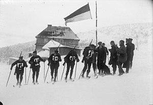 Start of a German Reichswehr military training...