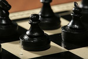 Chess pawn 0985