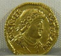 moneta (aureo) di Glicerio