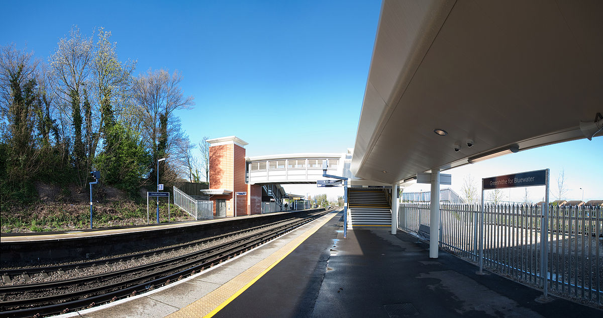 Greenhithe railway station  Wikipedia