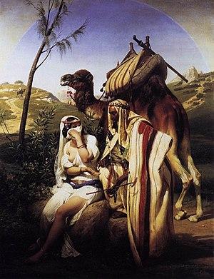 Horace Vernet - Judah and Tamar - WGA24755