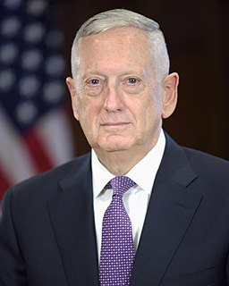 James Mattis official Transition portrait