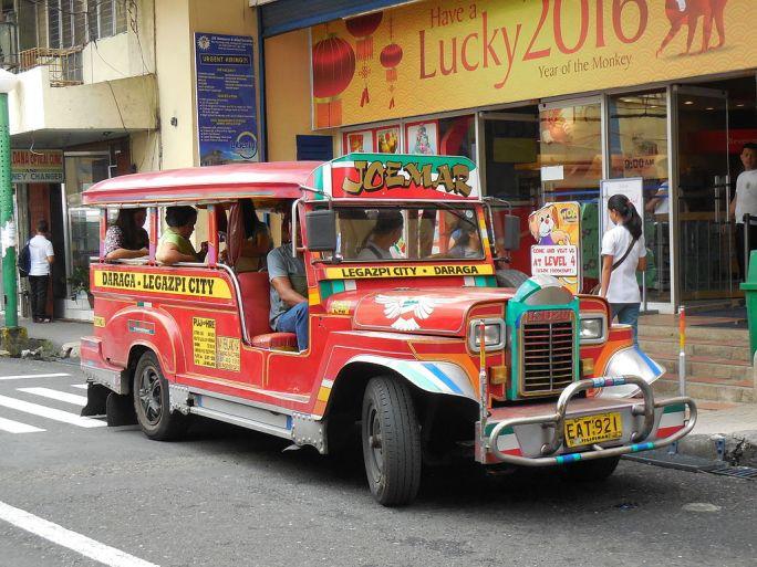 Jeepney in Legazpi City
