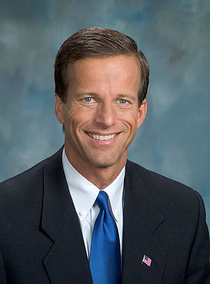 Official photograph of John Thune, U.S. Senator.
