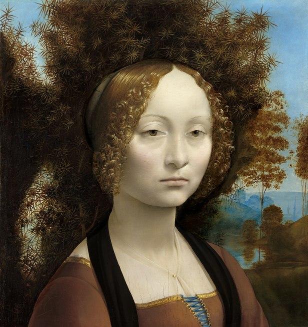 Leonardo da Vinci - Ginevra de' Benci - Google Art Project