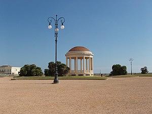 Livorno, Italy: Terrazza Mascagni. The gazebo ...