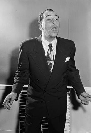 Singer Louis Prima