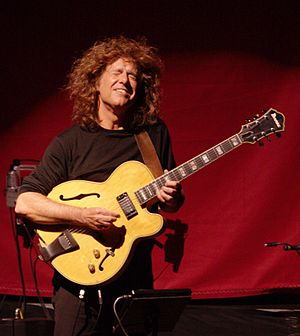 Cropped from original; Pat Metheny and the Orc...