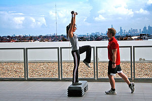 Personal Training Overlooking Melbourne Catego...
