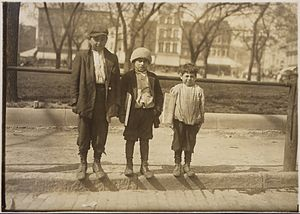 Photograph of Louis Gabriel (13 years old) and...