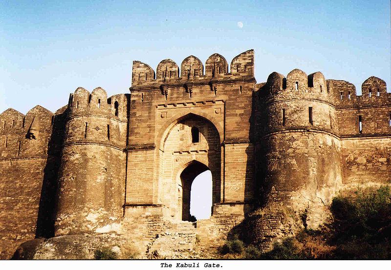 File:Rohtas Fort Magnificent Kabuli Gate.jpg