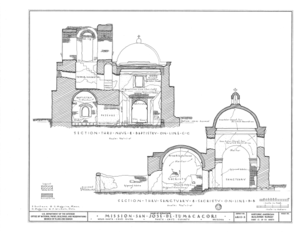 File:San Jose de Tumacacori (Mission, Ruins), Tubac, Santa
