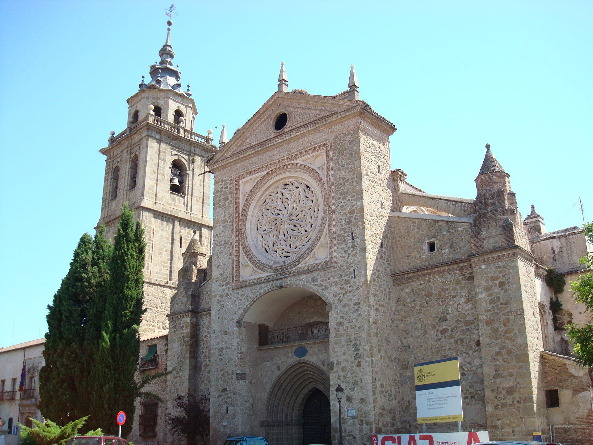 La collégiale Sainte-Talavera de la Reina est une commune d'Espagne de la province de Tolède dans la communauté autonome de Castille-La Manche.