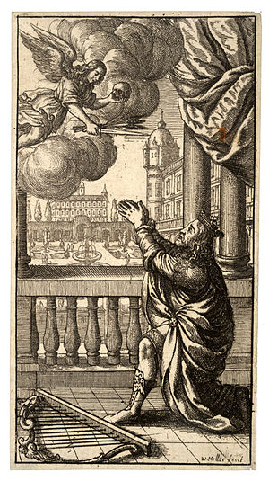 Wenceslas Hollar - King David