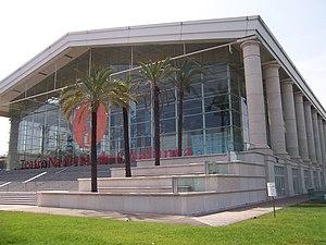 Catalunya National Theater, in Barcelona.