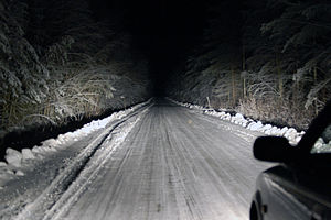 English: A Toyota Corolla in Finland 2005, ful...