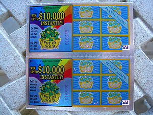 5 Year Anniversary California Lottery Tickets ...