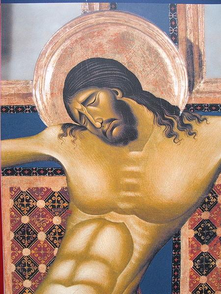 File:Arezzo-Chiesa di san Domenico-Crocifisso di Cimabue-closeup.jpg