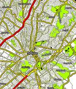 Νέος Κόσμος στον χάρτη: Αθήνα