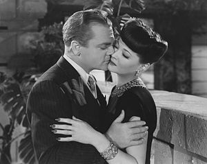 English: James Cagney & Sylvia Sidney in Blood...