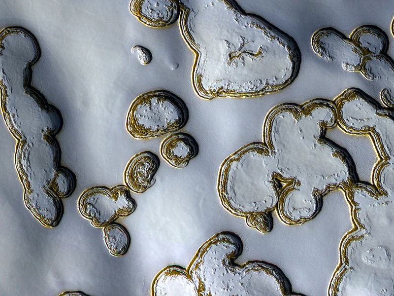 File:Carbon Dioxide Ice in the Late Summer Mars South Pole.jpg