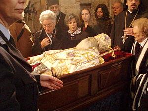 Public adieu to Archbishop Christodoulos