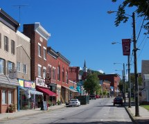 Downtown Berlin New Hampshire