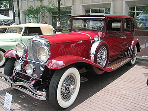 "A Duesenberg, ""one of the greatest luxury..."