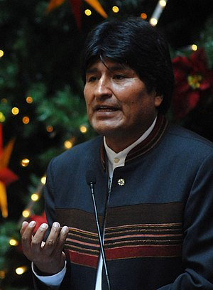 Português do Brasil: Presidente da Bolívia, Ev...